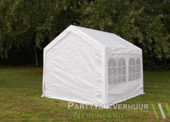 Partytent 3x3 meter achterkant huren - Partytentverhuur Eindhoven