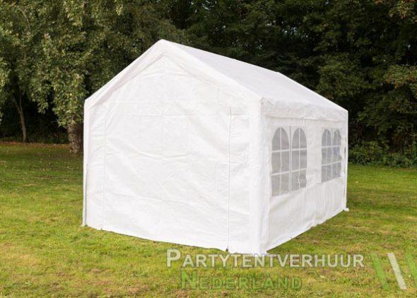 Partytent 3x4 meter achterkant huren - Partytentverhuur Eindhoven