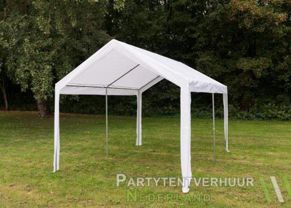 Partytent 3x4 meter schuin voorkant huren - Partytentverhuur Eindhoven