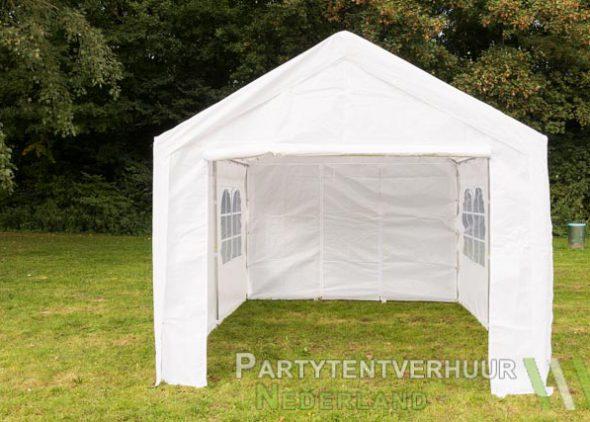 Partytent 3x4 meter voorkant huren - Partytentverhuur Eindhoven