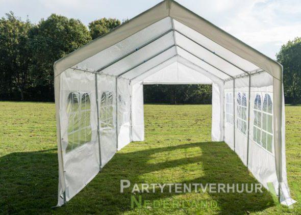 Partytent 3x6 meter open huren - Partytentverhuur Eindhoven