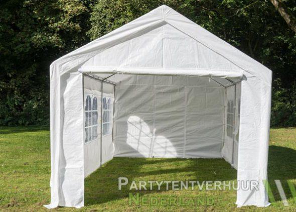 Partytent 3x6 meter voorkant huren - Partytentverhuur Eindhoven