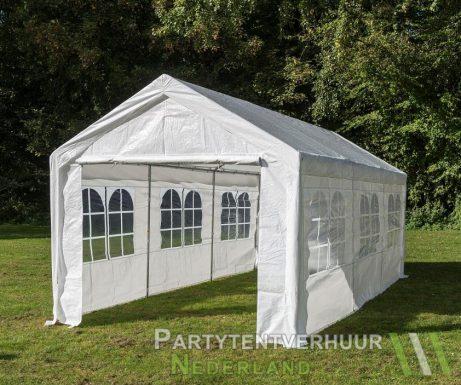 Partytent 3x6 meter zijkant huren - Partytentverhuur Eindhoven