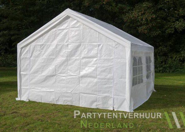 Partytent 4x4 meter achterkant huren - Partytentverhuur Eindhoven