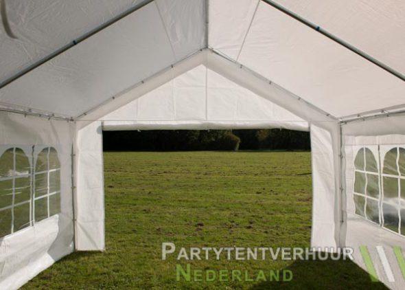 Partytent 4x4 meter binnenkant huren - Partytentverhuur Eindhoven