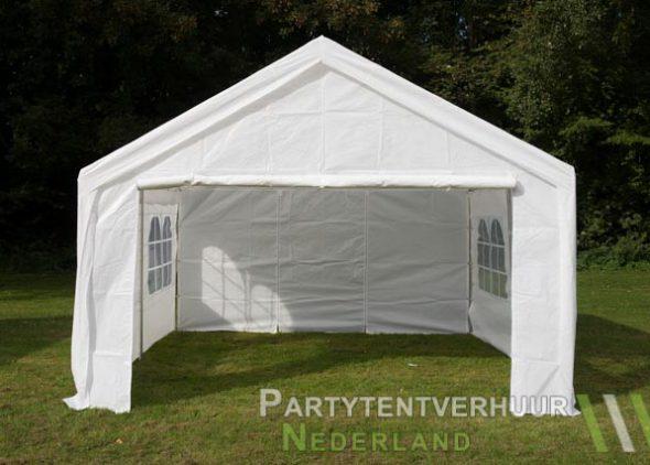 Partytent 4x4 meter voorkant huren - Partytentverhuur Eindhoven