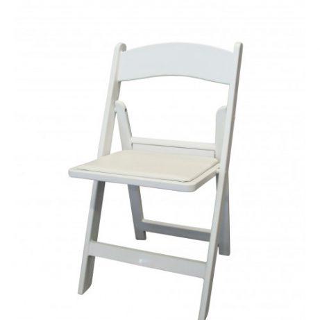 trouwstoel wit