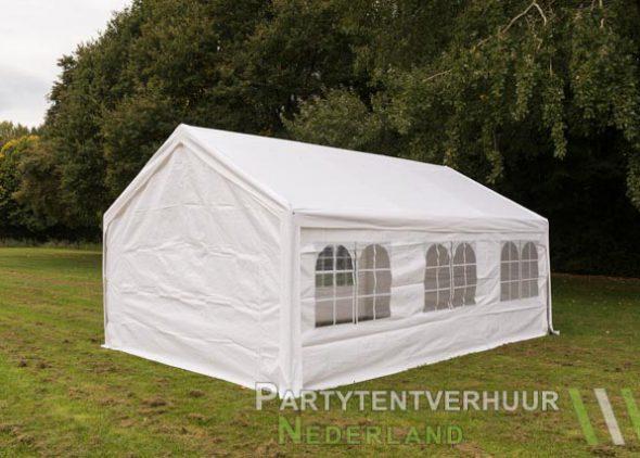 Partytent 4x6 meter achterkant huren - Partytentverhuur Eindhoven