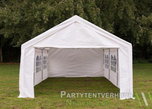 Partytent 4x6 meter voorkant huren - Partytentverhuur Eindhoven