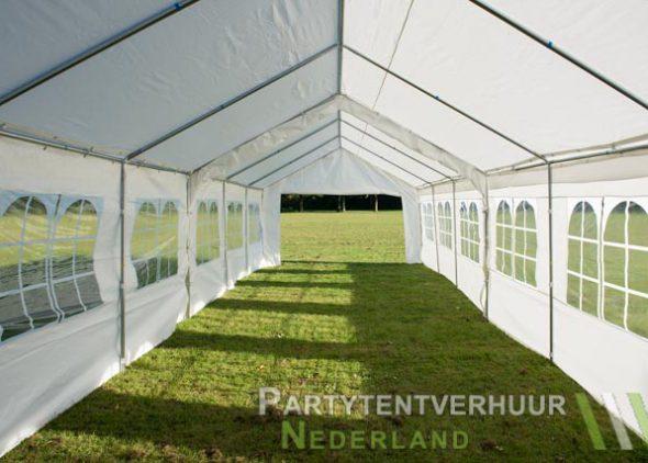 Partytent 6x12 meter binnenkant open huren - Partytentverhuur Eindhoven