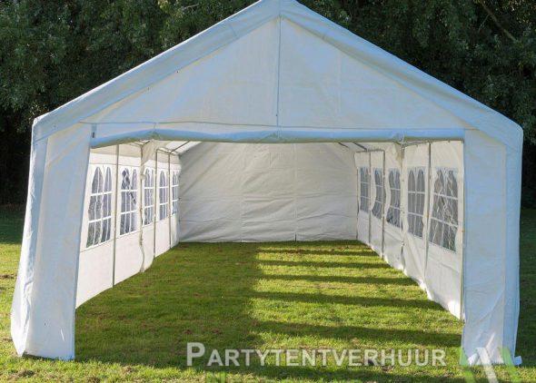 Partytent 6x12 meter voorkant huren - Partytentverhuur Eindhoven
