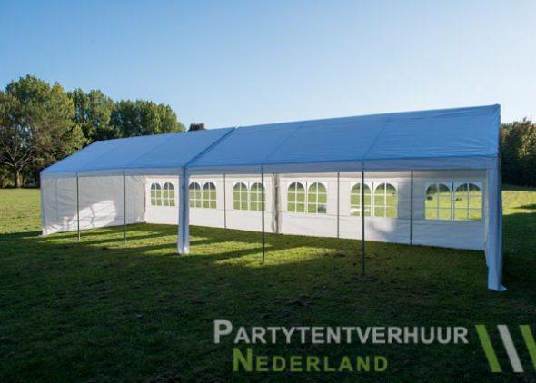 Partytent 6x12 meter zijkant open huren - Partytentverhuur Eindhoven