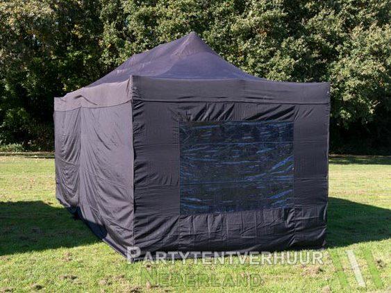Easy up tent 3x6 meter achterkant huren - Partytentverhuur Eindhoven