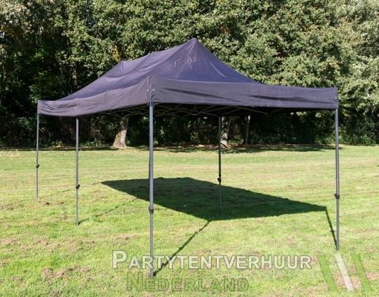 Easy up tent 3x6 meter schuin voorkant huren - Partytentverhuur Eindhoven