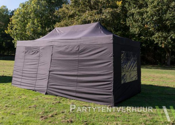 Easy up tent 3x6 meter zijkant huren - Partytentverhuur Eindhoven