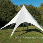 Stertent voorkant huren - Partytentverhuur Eindhoven