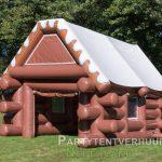 Skihut voorkant schuin huren - Partytentverhuur Eindhoven