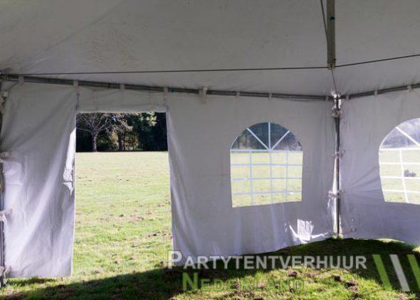 Pagodetent 4x4 meter binnenkant met deur huren - Partytentverhuur Eindhoven