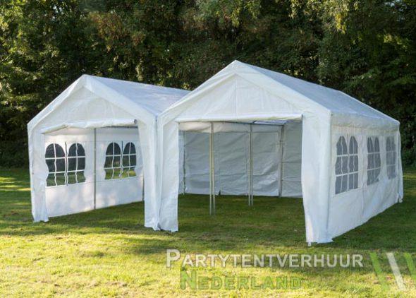 Partytent 6x6 meter voorkant huren - Partytentverhuur Eindhoven