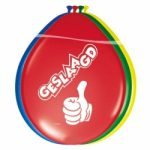 Geslaagd Ballonnen multikleur - Partytentverhuur Eindhoven