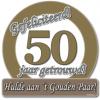 Huldeschild 50 jaar getrouwd kopen
