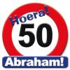 Huldeschild Abraham 50 jaar kopen