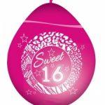 Roze sweet sixteen ballonnen kopen - Partytentverhuur Eindhoven