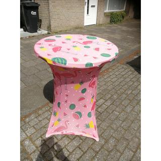 Statafel incl. Roze rok meloen huren - Partytentverhuur Eindhoven