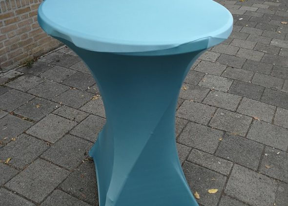Statafelrok mat turquoise