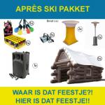 Apres ski pakket huren