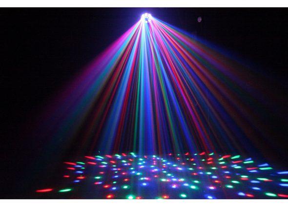 Lichtshow huren blauw - Partytentverhuur Eindhoven