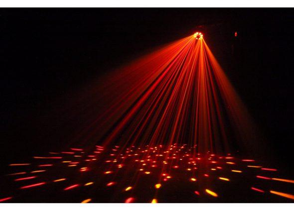Lichtshow huren rood - Partytentverhuur Eindhoven